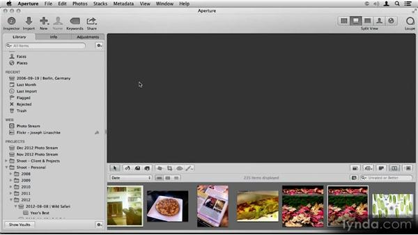 Interface tour: Aperture 3.3/3.4 New Features Overview