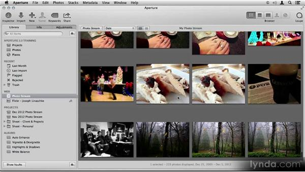 Photo Stream: Aperture 3.3/3.4 New Features Overview