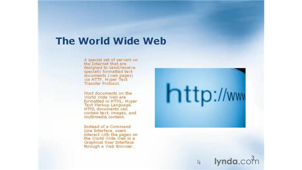what is the world wide web?: Learning Internet Explorer 6