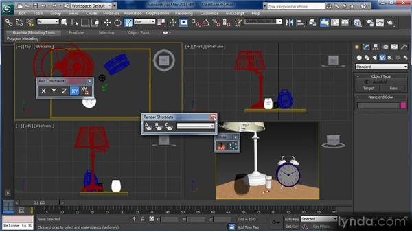 Interface overview: Getting Started with 3ds Max