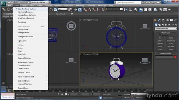 Exploring menus (part one): Getting Started with 3ds Max