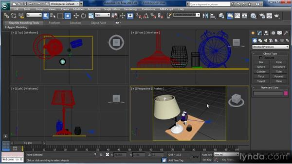 Scene navigation: Getting Started with 3ds Max