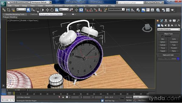 Selecting objects: Getting Started with 3ds Max