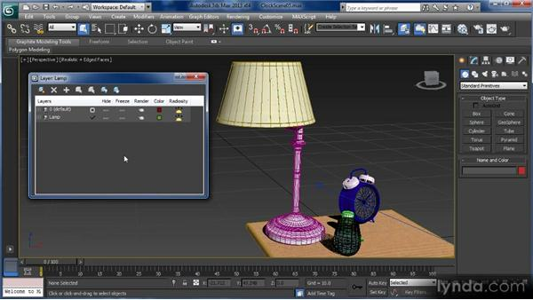 Using the Layer Manager: Getting Started with 3ds Max