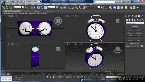 Animation tools and controls: Getting Started with 3ds Max