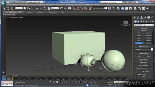 What are primitives?: Getting Started with 3ds Max