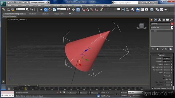 Understanding coordinate space: Getting Started with 3ds Max