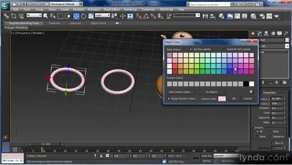 Cloning objects: Getting Started with 3ds Max