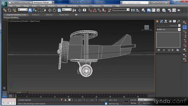 Grouping objects: Getting Started with 3ds Max