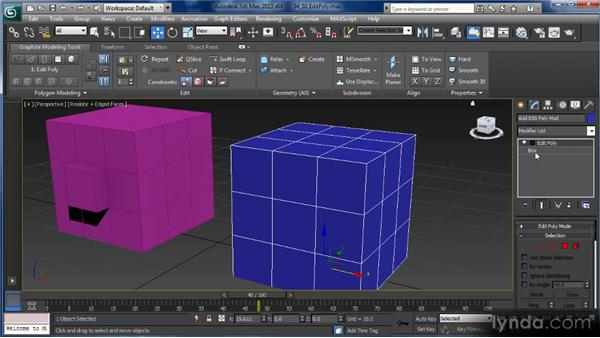 Convert to Editable Poly vs. Edit Poly Modifier: Getting Started with 3ds Max