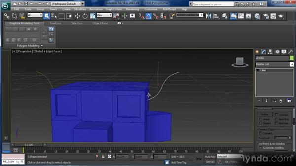 Poly editing: Getting Started with 3ds Max