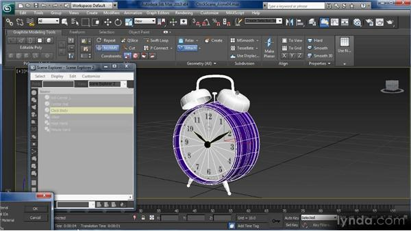 Working in Element mode: Getting Started with 3ds Max