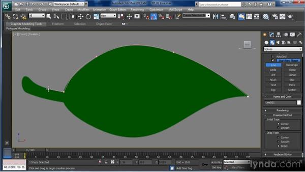 Using the Line tool: Getting Started with 3ds Max