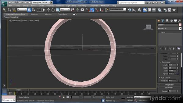 Rendering lines: Getting Started with 3ds Max