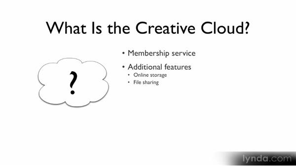 What is the Creative Cloud?: Photoshop CS6 Creative Cloud New Features Workshop