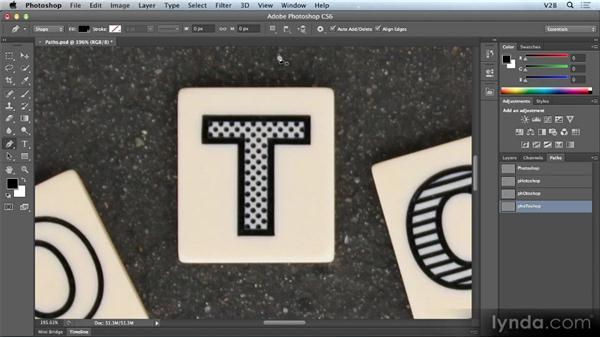 Pen tool enhancements: Photoshop CS6 Creative Cloud New Features Workshop