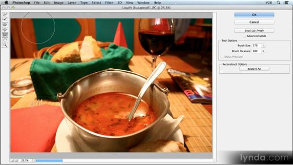 Blur and Liquify on Smart Objects: Photoshop CS6 Creative Cloud New Features Workshop