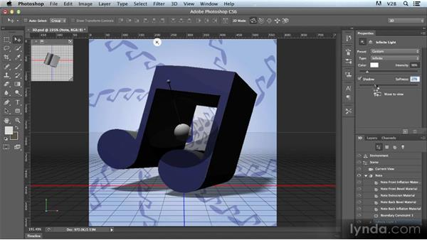 Introducing the new 3D lighting tools: Photoshop CS6 Creative Cloud New Features Workshop
