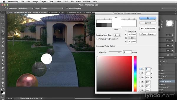 Exploring improved 3D lighting capabilities: Photoshop CS6 Creative Cloud New Features Workshop