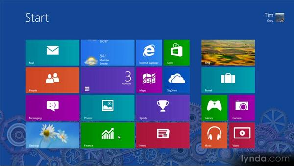 Customizing live tiles: Up and Running with Windows 8
