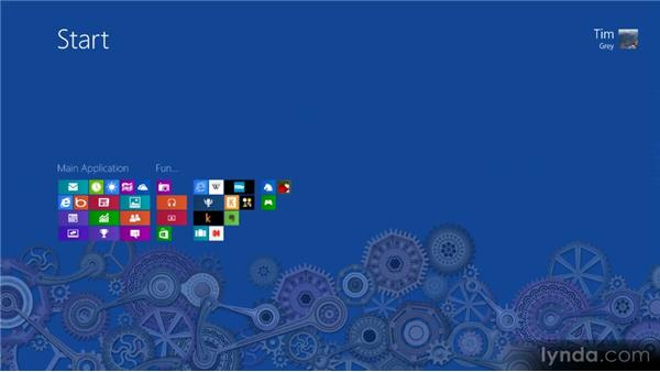 Organizing the Start screen: Up and Running with Windows 8
