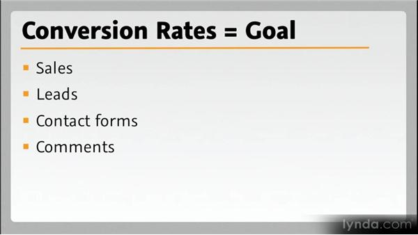 Terminology: Conversion rate: Web Analytics Fundamentals