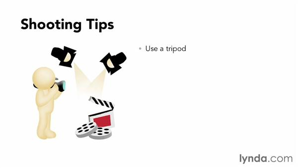 Shooting tips for small-screen content: YouTube Essential Training
