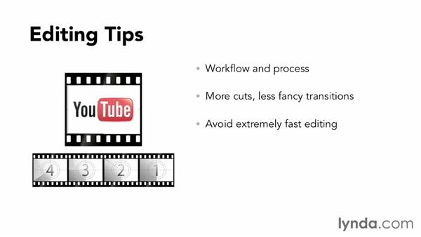 Post-production tips for small-screen content: YouTube Essential Training