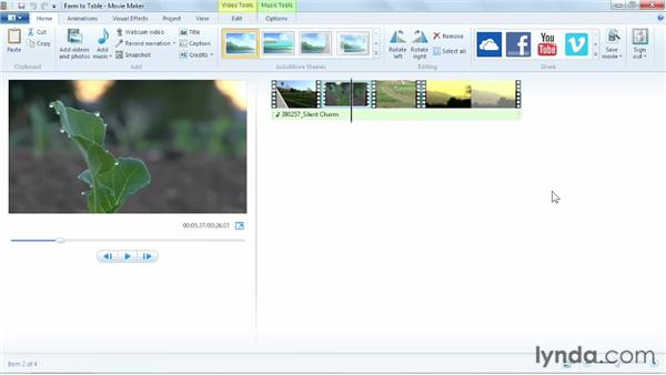Uploading from Windows Movie Maker: YouTube Essential Training