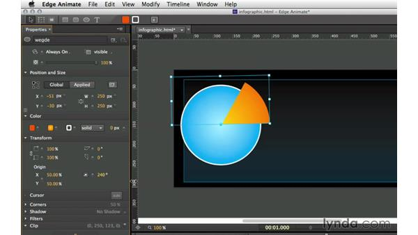 About this course: Creating an Animated Infographic with Edge Animate