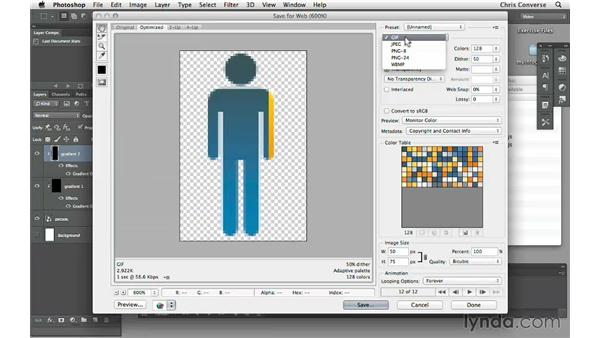 Exporting a preloader animation from Photoshop: Creating an Animated Infographic with Edge Animate