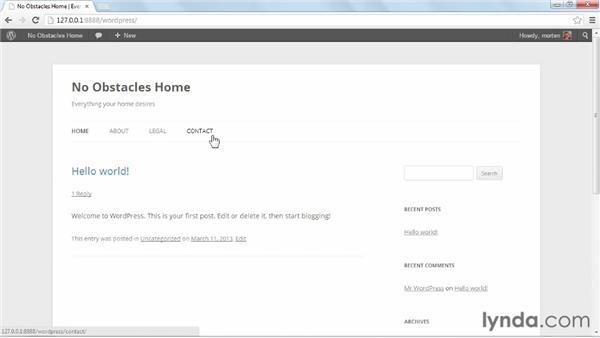 Initial configuration: WordPress Ecommerce: WooCommerce