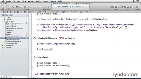 Using iCloud as your main data source: Developing for the Apple iCloud API with iOS (2013)