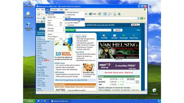 adding tabbed browsing: Learning Internet Explorer 6