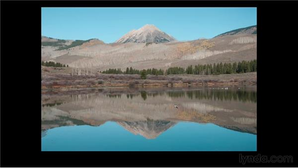 Analyzing the project photo: Enhancing a Landscape Photo with Lightroom