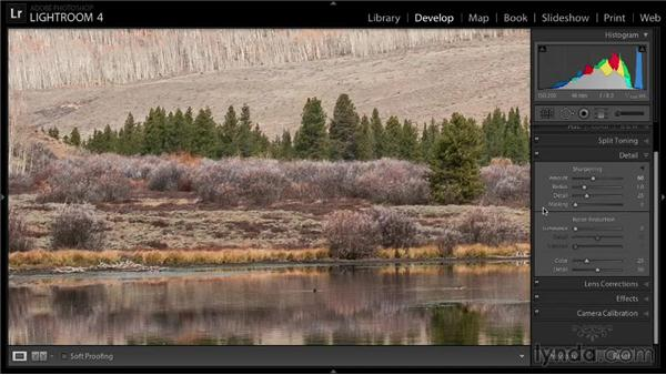 Capture sharpening: Enhancing a Landscape Photo with Lightroom