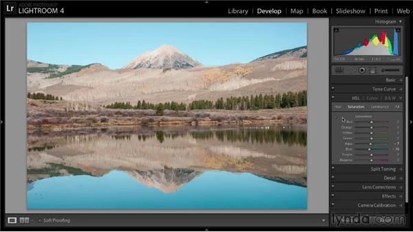 Order Lynda.com - Enhancing a Landscape Photo with Lightroom