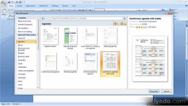 video2brain word 2007