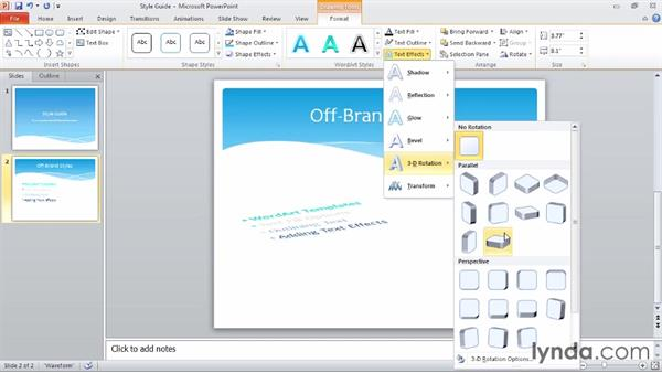 Welcome: Up and Running with PowerPoint 2010