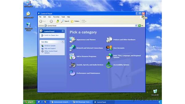 windows messenger vs. msn messenger: Learning Internet Explorer 6