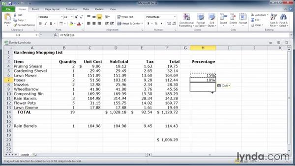 Welcome: Learn Excel 2010: The Basics