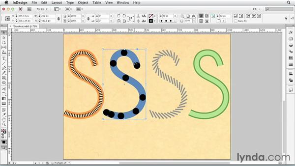090 Combining stroke styles: InDesign FX