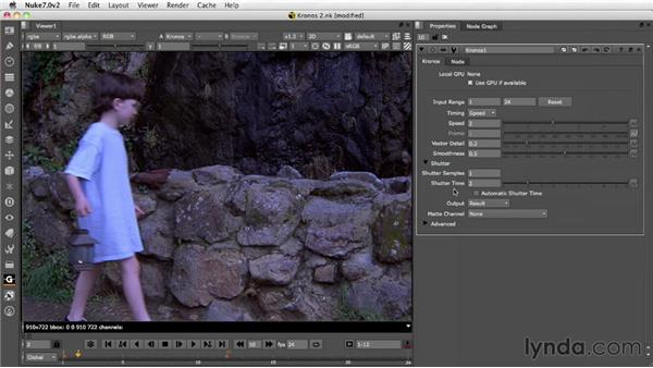 Managing motion blur: Nuke 7 New Features