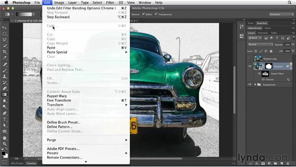 Understanding filter blend modes: Photoshop for Designers: Filters