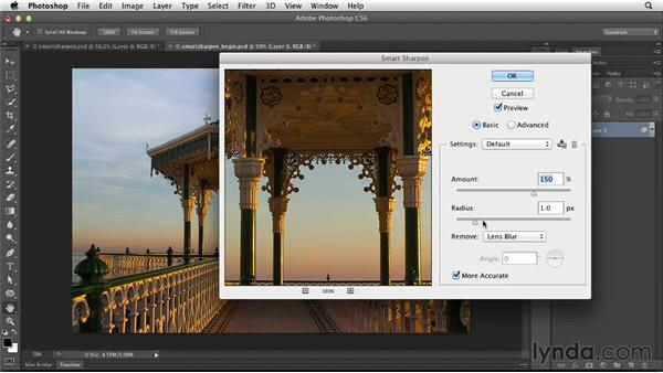 Unsharp Mask and Smart Sharpen: Photoshop for Designers: Filters
