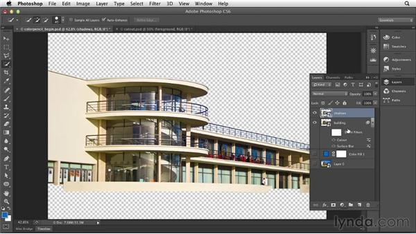 Using the Cutout filter: Part one: Photoshop for Designers: Filters