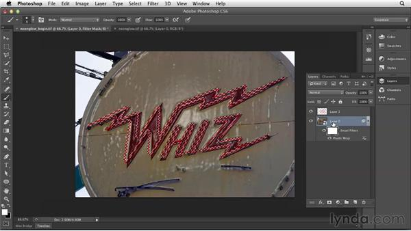 Turning on the neon: Photoshop for Designers: Filters