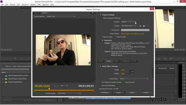 Creating a rough-cut version of the story for client review: Video Journalism Storytelling Techniques