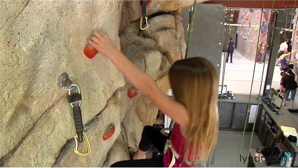 Santa Barbara Rock Gym quick cut story: Video Journalism Storytelling Techniques