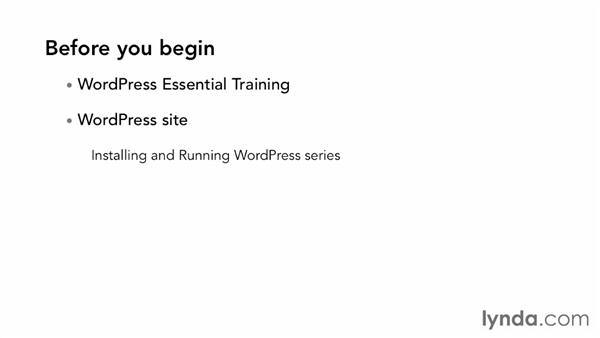 What to know before you start this course: WordPress Ecommerce: Easy Digital Downloads